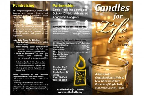 candles for life brochure